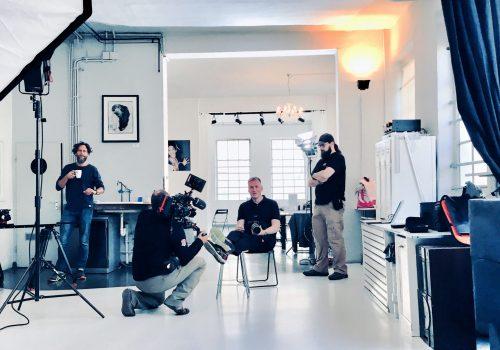 Filmdreh, Bernd Euring, Foto, Video, Licht, Profesionell
